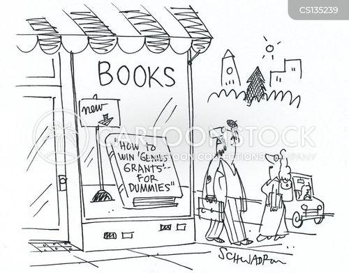 advice books cartoon