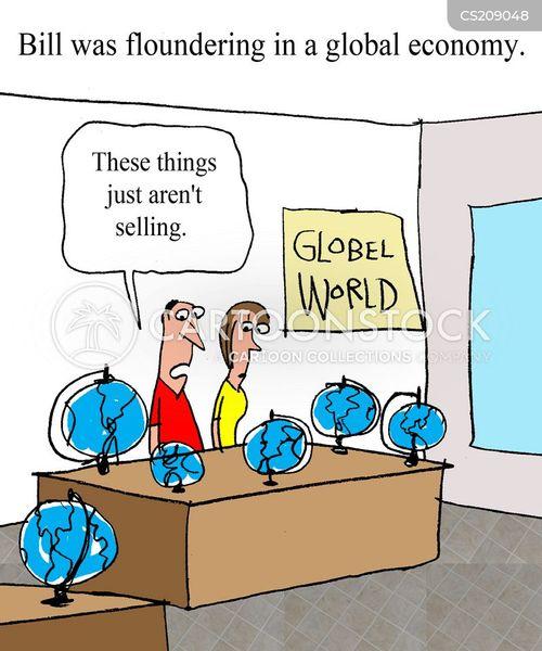 globes cartoon
