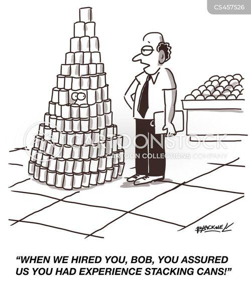 stacking cartoon