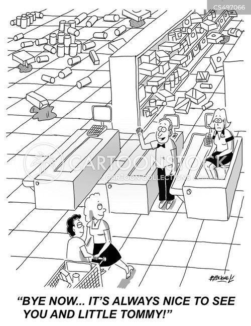 loss prevention cartoon