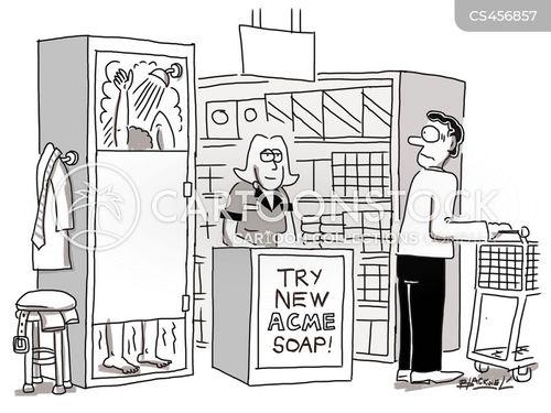 free samples cartoon