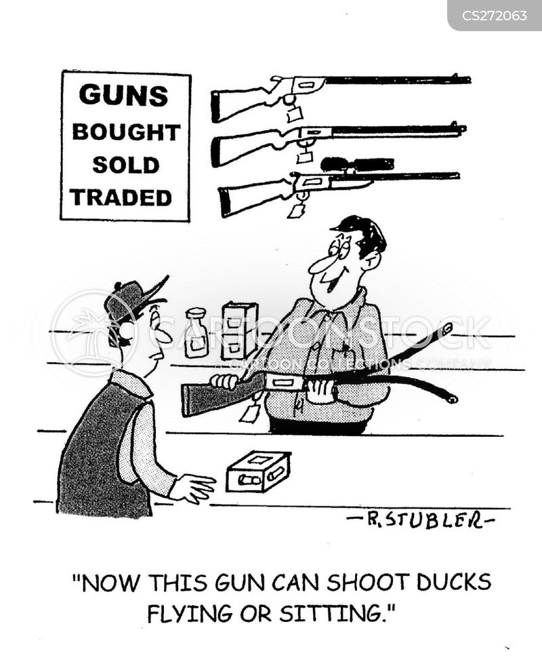 gunsmith cartoons and comics funny pictures from cartoonstock