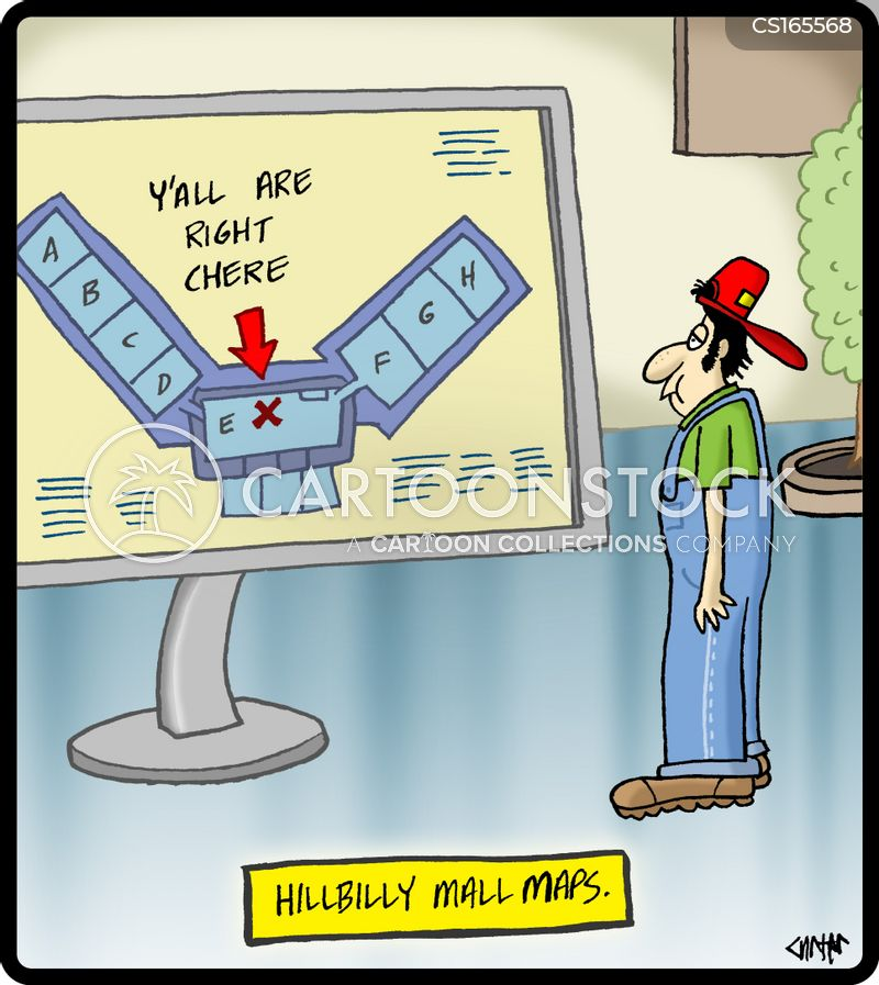 mall cartoon