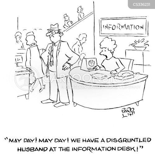 may day cartoon