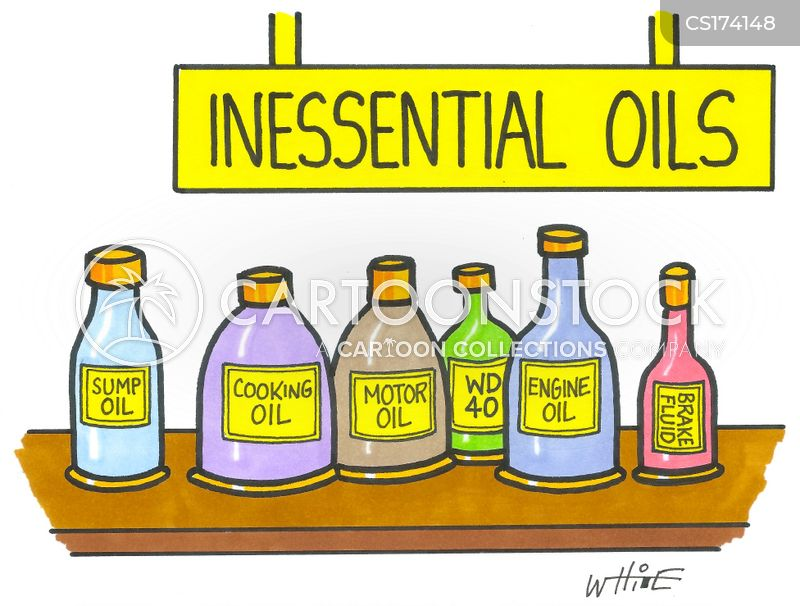 oils cartoon