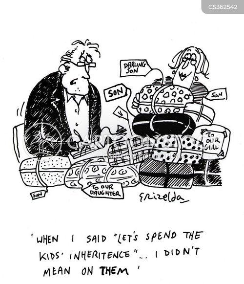 inheritence cartoon