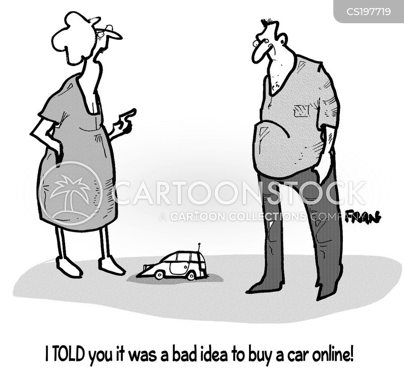 internet store cartoon