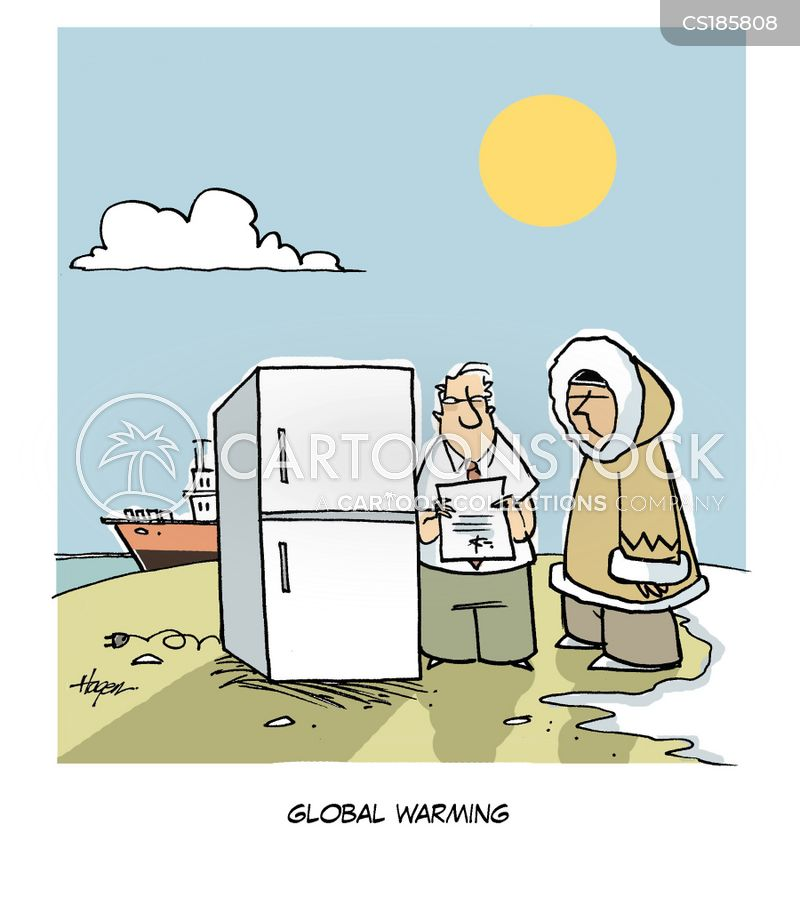 refridgerator cartoon