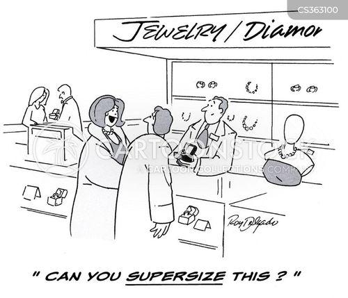 jewellery store cartoon