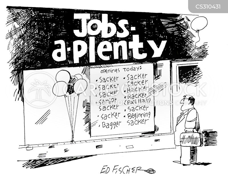 Looking For A Job Cartoons And Comics Funny Pictures From Cartoonstock