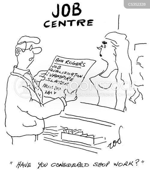 shop work cartoon