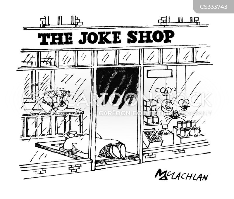joke shops cartoon