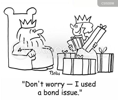 bond issue cartoon