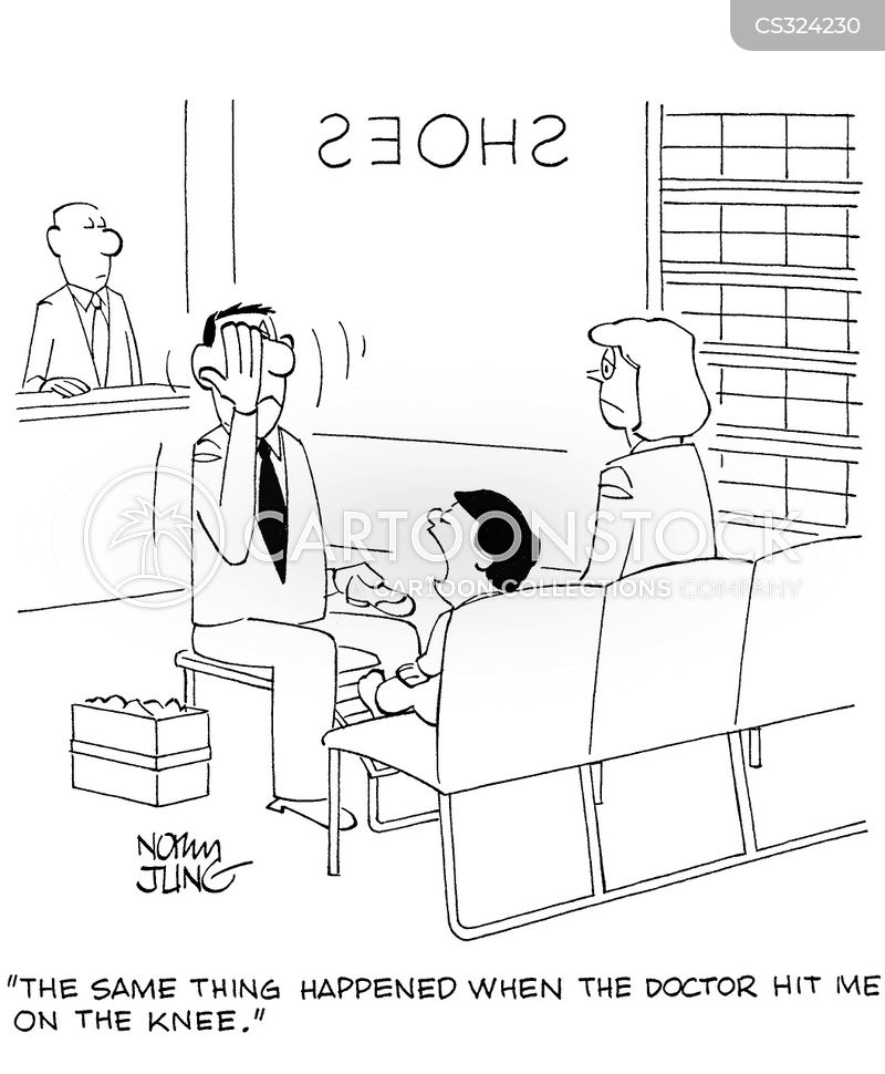 Reflex Test Cartoons and Comics - funny pictures from CartoonStock