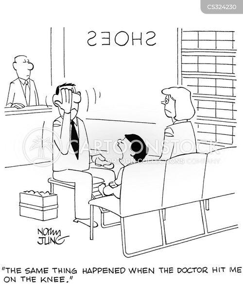 reflex tests cartoon