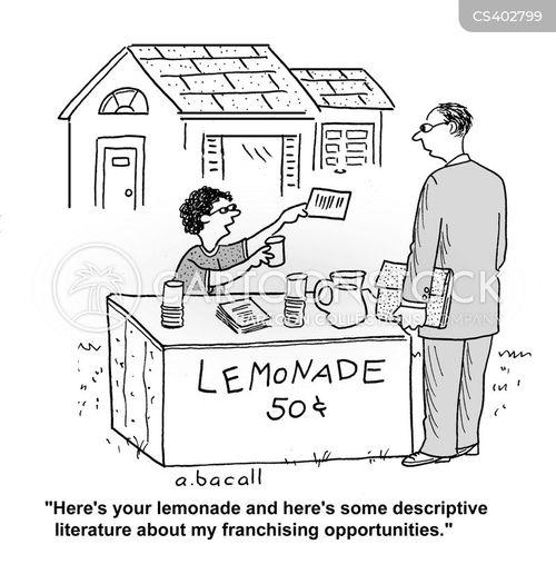 marketing material cartoon