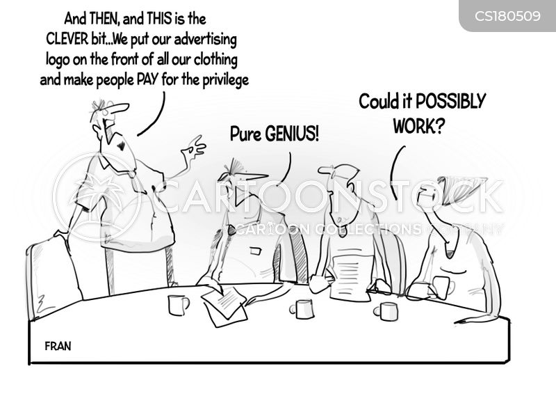 marketing tactics cartoon