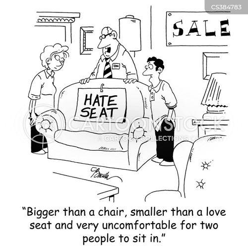 love seat cartoon