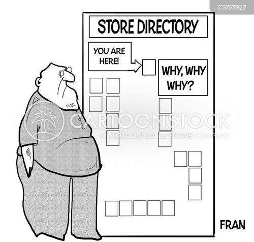 shopping trips cartoon