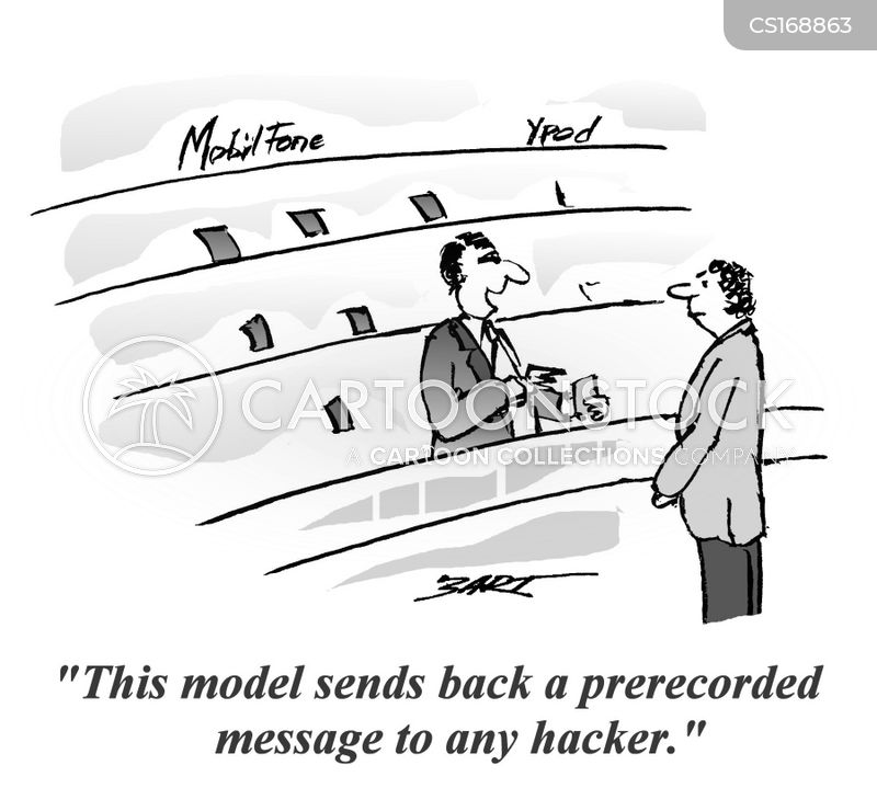 phone hacking cartoon