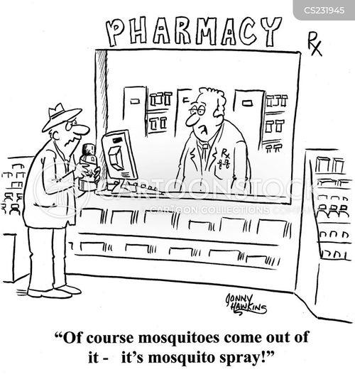 druggist cartoon