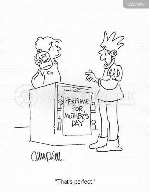 perfume shops cartoon