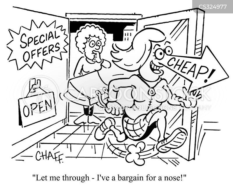 Nose For A Bargain cartoons, Nose For A Bargain cartoon, funny, Nose For A Bargain picture, Nose For A Bargain pictures, Nose For A Bargain image, Nose For A Bargain images, Nose For A Bargain illustration, Nose For A Bargain illustrations