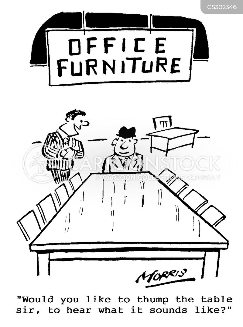 boardroom table cartoon