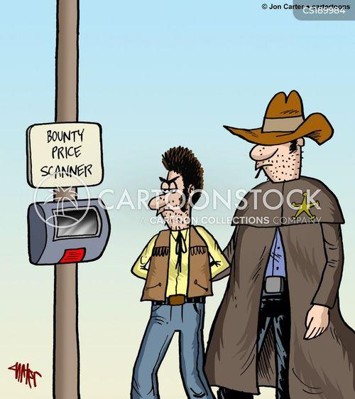 bounty hunters cartoon