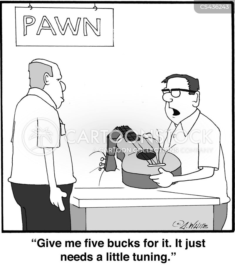 pawn shop cartoon
