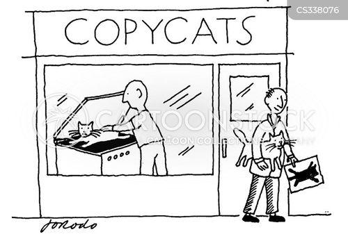 copycat cartoon