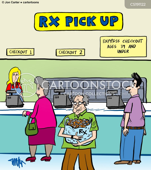 express lanes cartoon