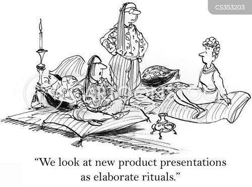 elaborate cartoon