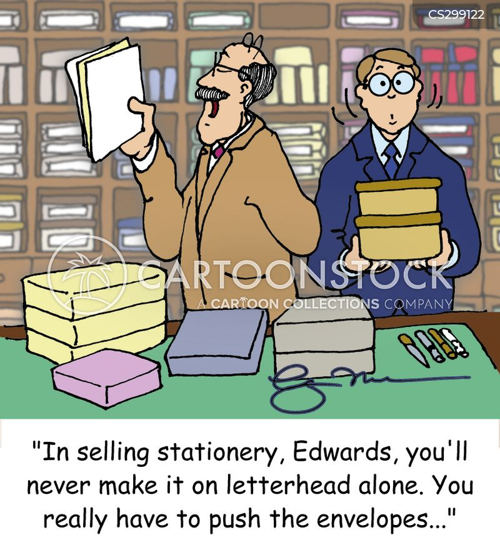 letterhead cartoon