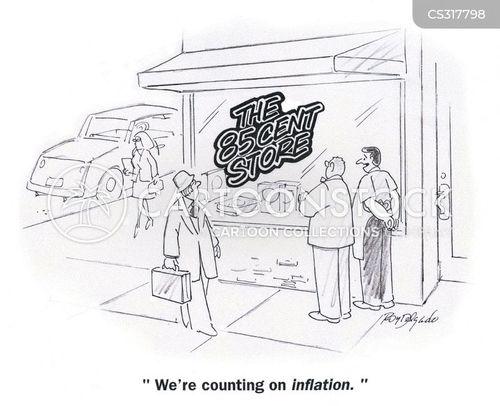 pound shop cartoon