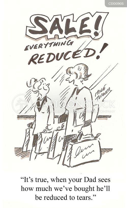 reduced cartoon