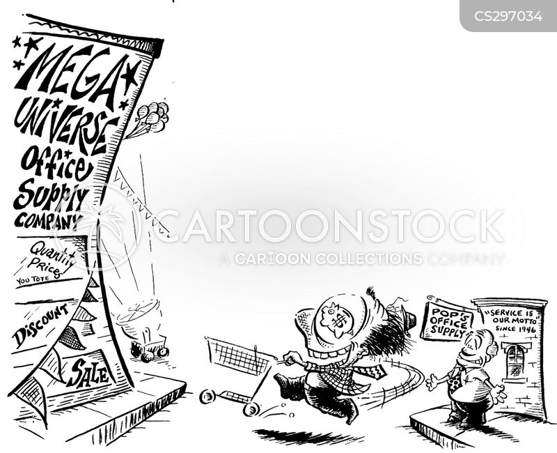 megastores cartoon
