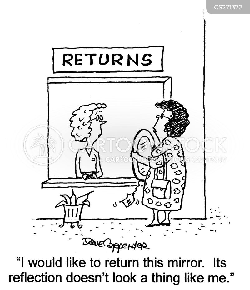 returns department cartoon