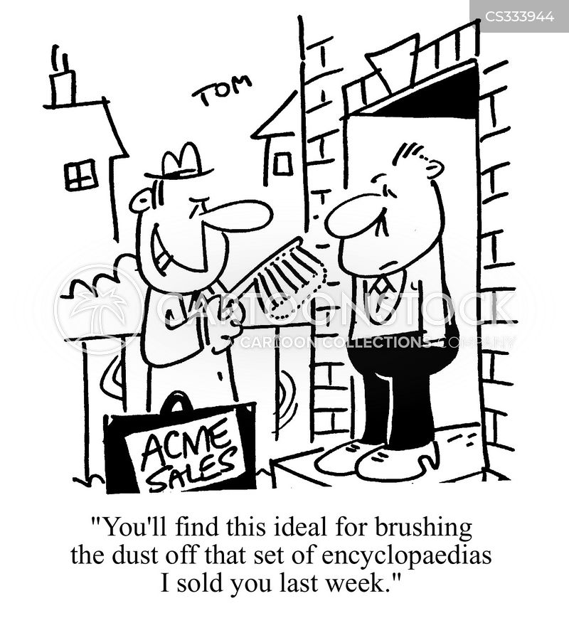 Door to door sales cartoons and comics funny pictures for Door to door sales