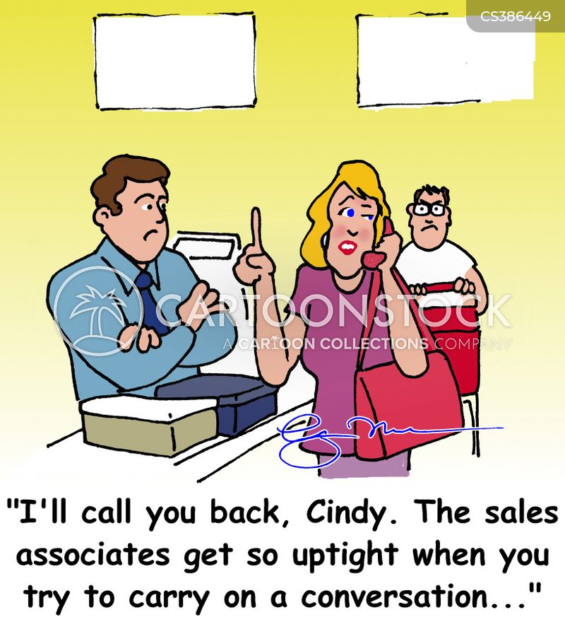 Sales Associates Cartoon 2 Of 3  Sales Associate