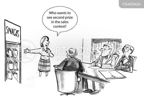 second prize cartoon