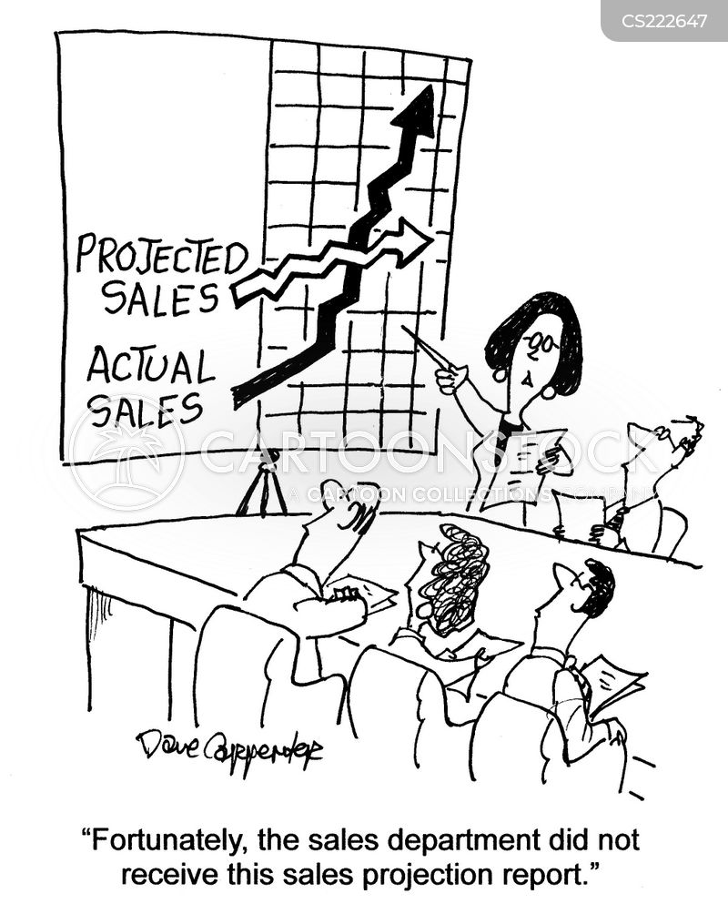 sales departments cartoon