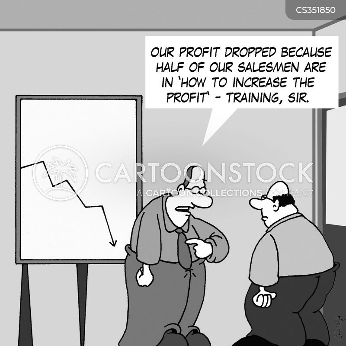 sales training cartoon