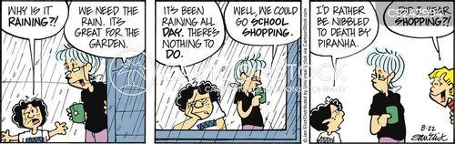 school supplies cartoon