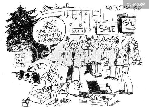 christmas seasons cartoon