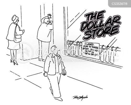 shut cartoon