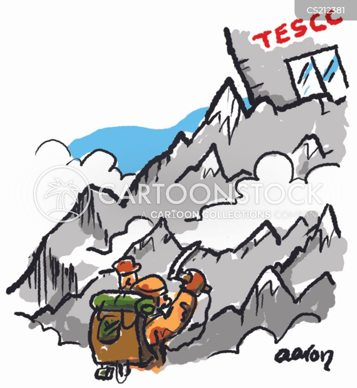 tesco cartoon