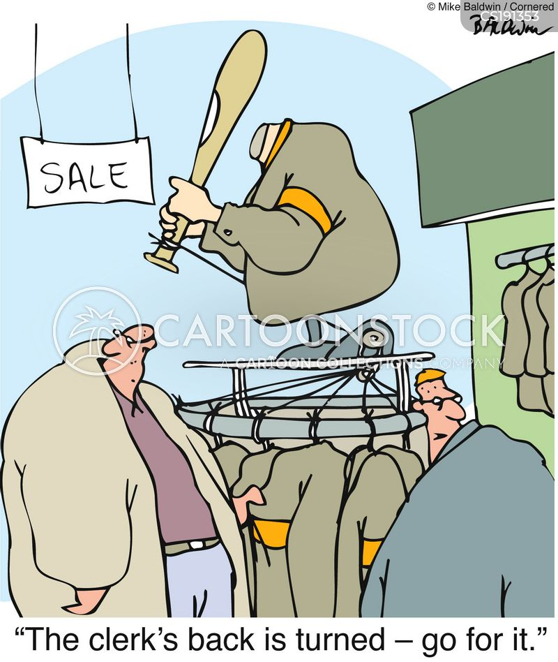 security devices cartoon