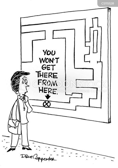 mapped cartoon