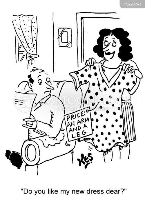 shopaholism cartoon